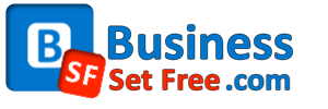 BusinessSetFree.com Retina Logo